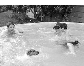 La natación es un gran ejercicio para los perros