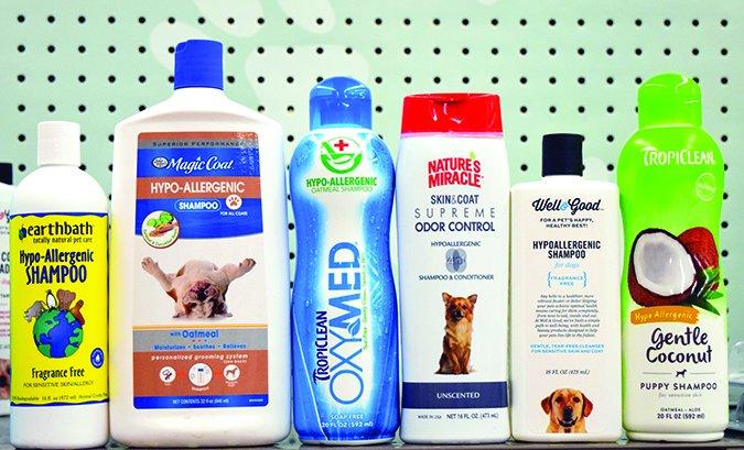 ¿Qué es el champú hipoalergénico para perros?